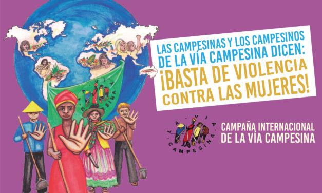 #25N: ¡Basta de violencia contra las mujeres! La Vía Campesina llama a resistir al patriarcado y al capitalismo