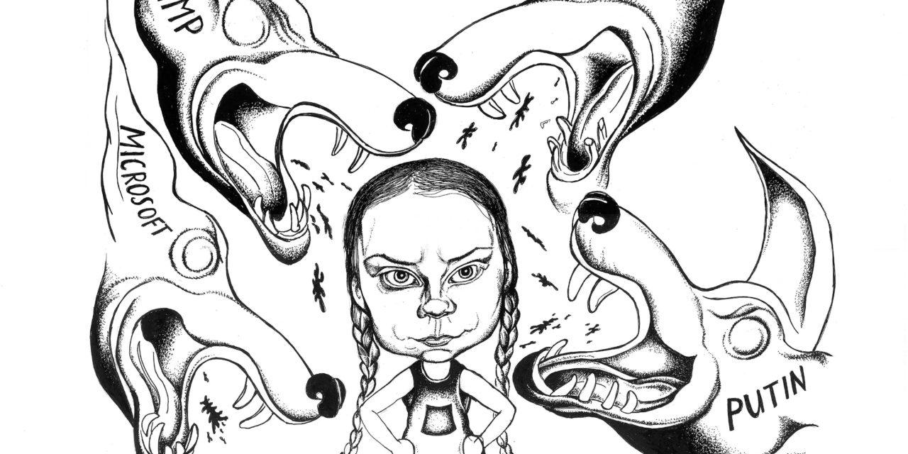 El odio contra Greta: Aquí, con nombres y apellidos, quienes lo financian