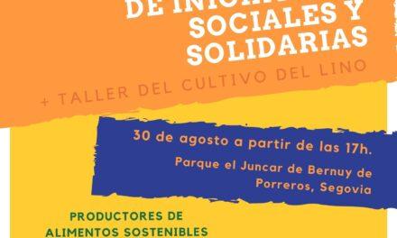 ¿Sabías que el lino, cultivo tradicional, podría sustituir al plástico? Taller en la II Feria-Mercado de Iniciativas Sociales y Solidarias