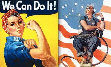 Rosie la Remachadora, el (hoy) icono feminista, nació en EEUU como propaganda antinazi