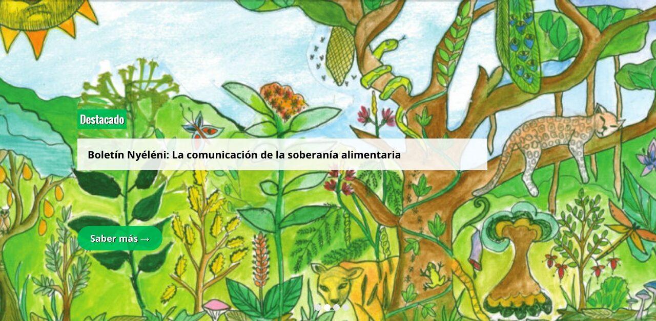 Boletín Nyéléni: Los grandes medios uniformizan la cultura y la agroindustria, la agricultura