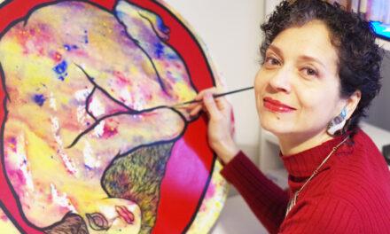 Hilos y alas: Las puntadas con hilo de Amalfy, terapia para las violencias de género