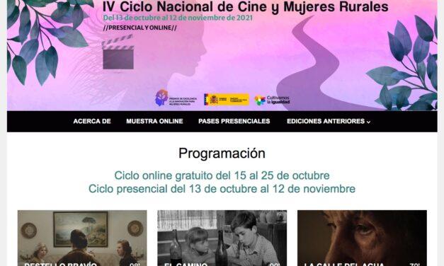 El IV Ciclo Nacional de Cine y Mujeres Rurales se podrá seguir 'online' en 8 países de Centroamérica